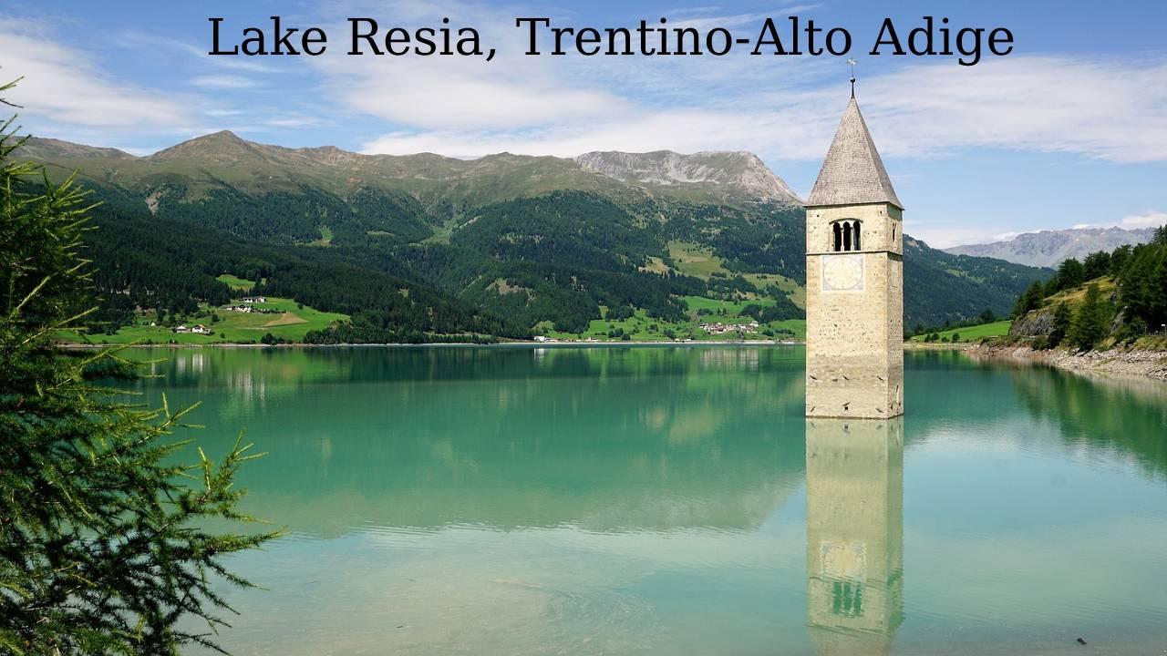 Lake Resia, Trentino-Alto Adige