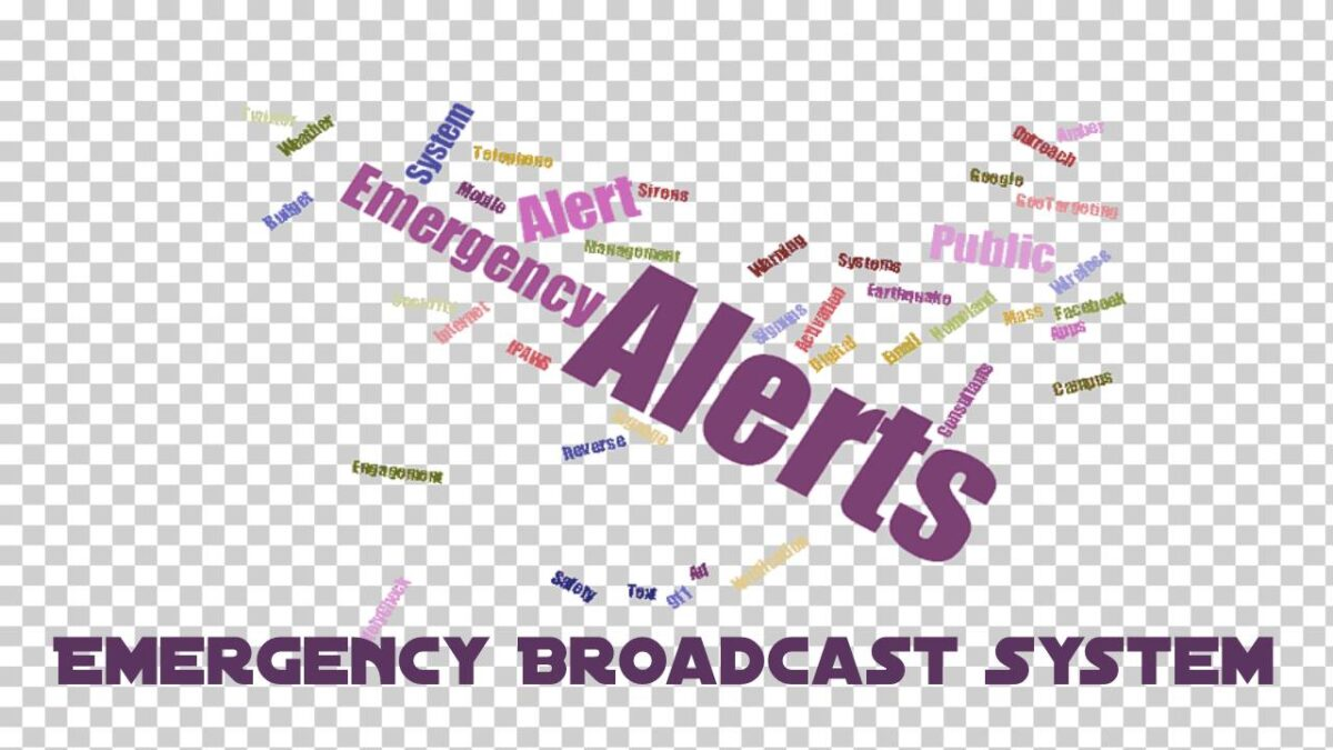 Emergency Broadcast System – No trials of the FEMA Integrated Public Alert System in 2020