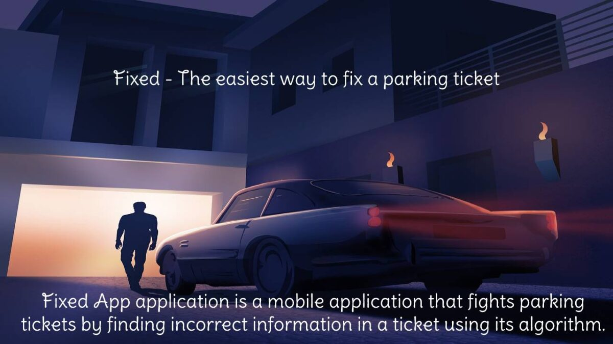 Fixed App application – Purchased an application to combat Fixed tickets