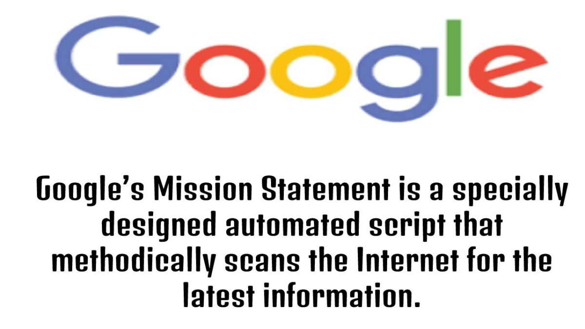 Google's Mission Statement – How Google Search works? Steps in processing a website by Google