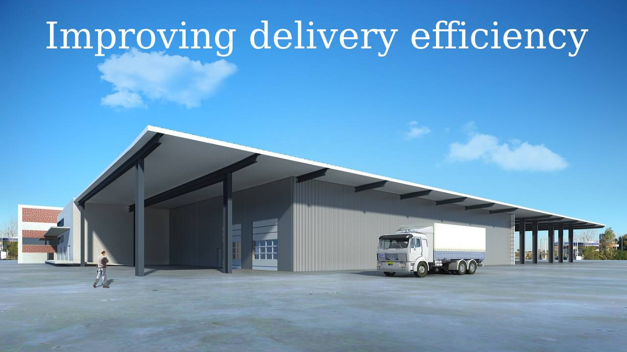 Improving delivery efficiency