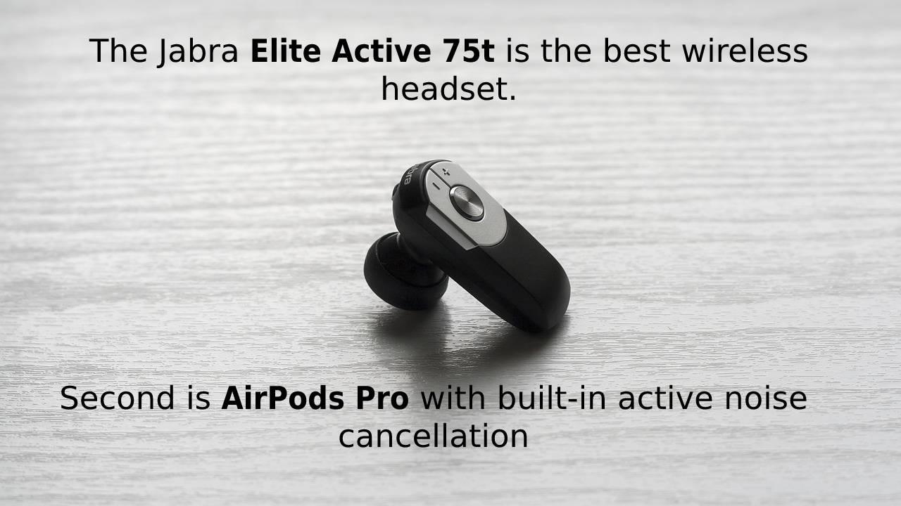 The best wireless earbuds
