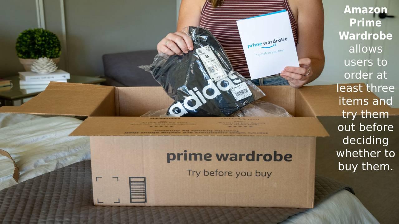 What is Amazon Prime Wardrobe